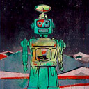 Robot III by Guy Allott